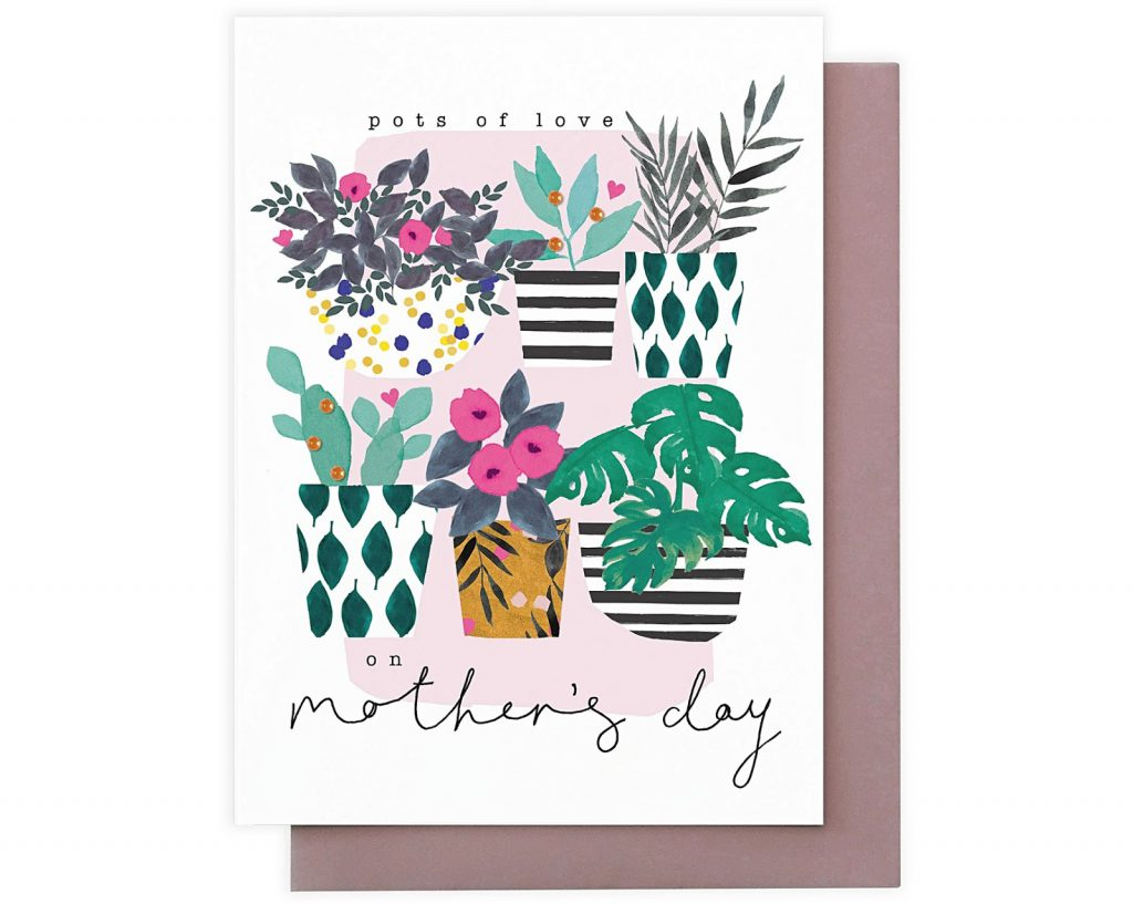 1168877 oliver bonas gift pots of love mothers day card 1 1024x817 HomeTouch's Top 18 Gifts for your Elderly Mother for Mother's Day, HomeTouch Blog