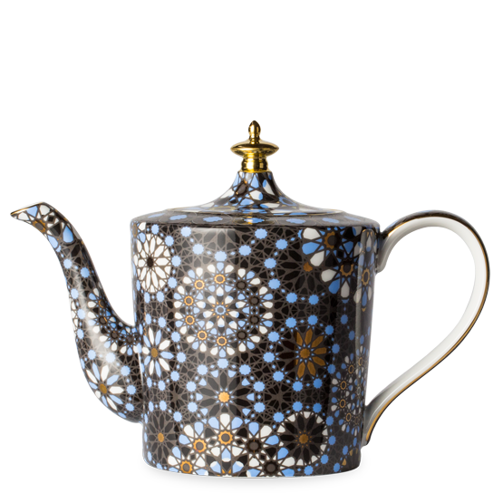H210BA901 dazed and dazzled black indigo teapot p1 HomeTouch's Top 18 Gifts for your Elderly Mother for Mother's Day, HomeTouch Blog
